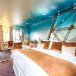 Hotel Eiffel Trocadero Paris Suite Eiffel King Size Bed