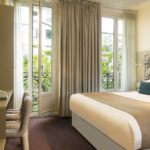 Hotel Palais de Chaillot Chambre King Size Bed Paris