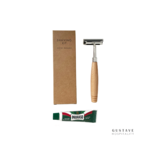 kit-de-rasage-ecologique-rasoir-bambou-creme-de-rasage-proraso-10ml-produit-daccueil-ecoresponsable-hotel-gustave-hospitality